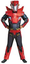 Kids Transformers Robots in Disguise Sideswipe Animated Muscle Costume