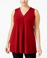 Alfani Plus Size V-Neck Tunic, Only at Macy's