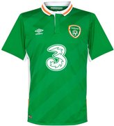 Umbro 2016-2017 Ireland Home Football Shirt
