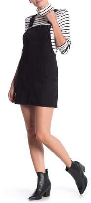Love, Fire Pocket Jean Overall Dress