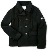 Diesel Boys 8-20) Bubble Back Wool-Blend Peacoat