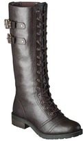 Mossimo Women's Jia Tall Trooper Boots - Assorted Colors