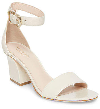 Kate Spade Susane Leather Ankle-Wrap Sandals