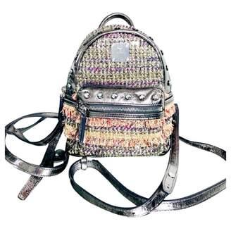 MCM Metallic Leather Backpacks