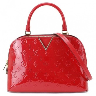 Louis Vuitton Melrose Red Patent leather Handbags