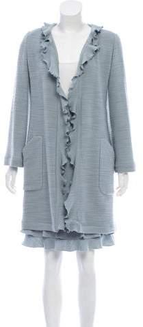 Chanel Tweed Wool Skirt Suit
