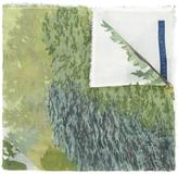 Stella McCartney watercolour creek scarf