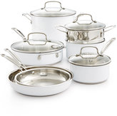 Cuisinart Chef's Classic Stainless Steel Color Series 11-Pc. Cookware Set