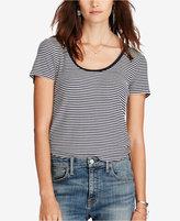 Denim & Supply Ralph Lauren Striped Scoop Neck T-Shirt