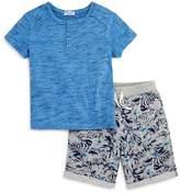 Splendid Boys' Henley Tee & French Terry Shorts Set - Little Kid