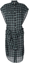 R 13 double layer dress - women - Cotton - 46