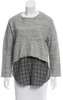 Derek Lam 10 Crosby Wool Underlay Sweater