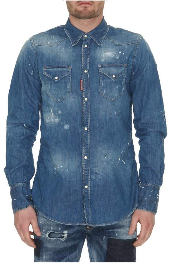 DSQUARED2 Stretch Denim Jacket