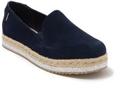 Toms Palma Suede Espadrille Slip-On Shoe