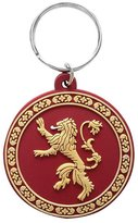 Game Of Thrones Keyring Keychain Lannister Logo Official New Rubber Circular