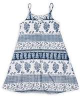 Flowers by Zoe Girl's Printed Lace-Up Dress