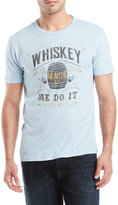 Lucky Brand Whiskey Made Me Tee