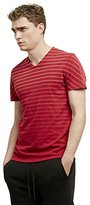 Kenneth Cole New York Men's Laser-Print V-Neck T-Shirt