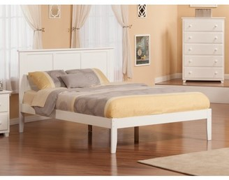 Atlantic Furniture Madison Platform Bed with Open Foot Board in Multiple Colors and Sizes