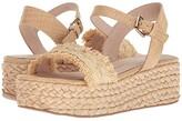 Chinese Laundry Ziba Sandal (Natural Straw) Women's Sandals