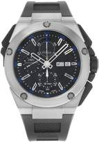 IWC Men's Ingenieur Double Mechanical/Automatic Chronograph Dial Rubber