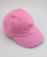 Princess Linens Pink Personalized Baseball Hat - Infant