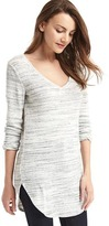 Gap Softspun knit V-neck tunic