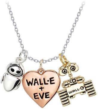 Disney WALLE and E.V.E. Heart Necklace