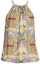 Chufy Inka Tapestry Print Halter Top
