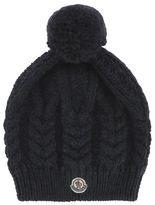 Moncler Blue Wool Hat
