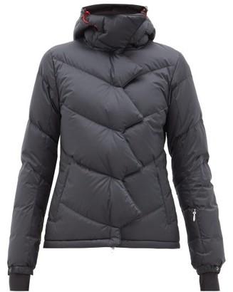Perfect Moment Chevron Super Down Filled Ski Jacket - Womens - Black