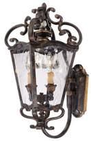 Minka Lavery Metropolitan® 2-Light Outdoor Lantern in Terraza Villa Aged Patina
