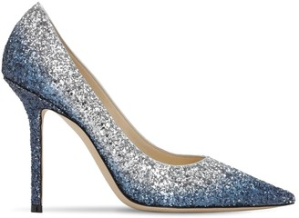 Jimmy Choo 100mm Love Degrade Glitter Pumps
