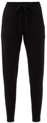 Eres Ardent Wool-blend Pyjama Trousers - Black
