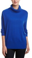 Magaschoni Cashmere Oversized Turtle-neck Sweater.