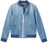 7 For All Mankind Bomber Jacket (Little Girls)