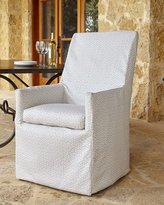 Lane Venture Beige Bennett Outdoor Dining Armchair