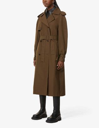 BITE Studios Belted organic-cotton trench coat