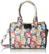 Loungefly Disney Princesses Classic Print Pebble Crossbody Duffle