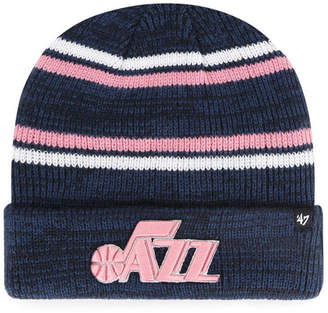 '47 Utah Jazz Marled Stripe Cuff Knit Hat