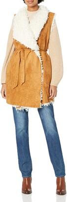 Somedays Lovin Women's Groover Waterfall Sherpa Vest
