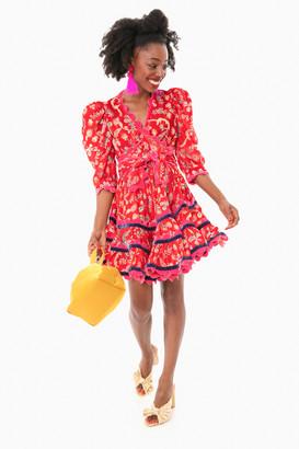 CeliaB Gladys Rik Rak Mini Dress