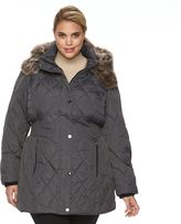 Apt. 9 Plus Size Hooded Quilted Puffer Jacket