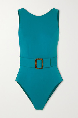 Eres Clever Belted Swimsuit - Azure