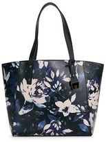 Ivanka Trump Floral Leather Tote