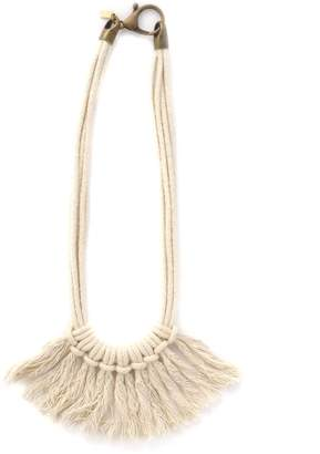Zelma Rose Saguaro Fringe Necklace