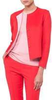 Akris Nashville Snap-Front Short Reversible Cashmere Jacket
