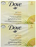 Dove Energy Glow Soap (4 Bars of Soap)
