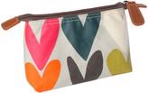 Caroline Gardner Hearts Cosmetic Bag