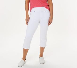 Belle By Kim Gravel Regular Flexibelle Capri Jeans
